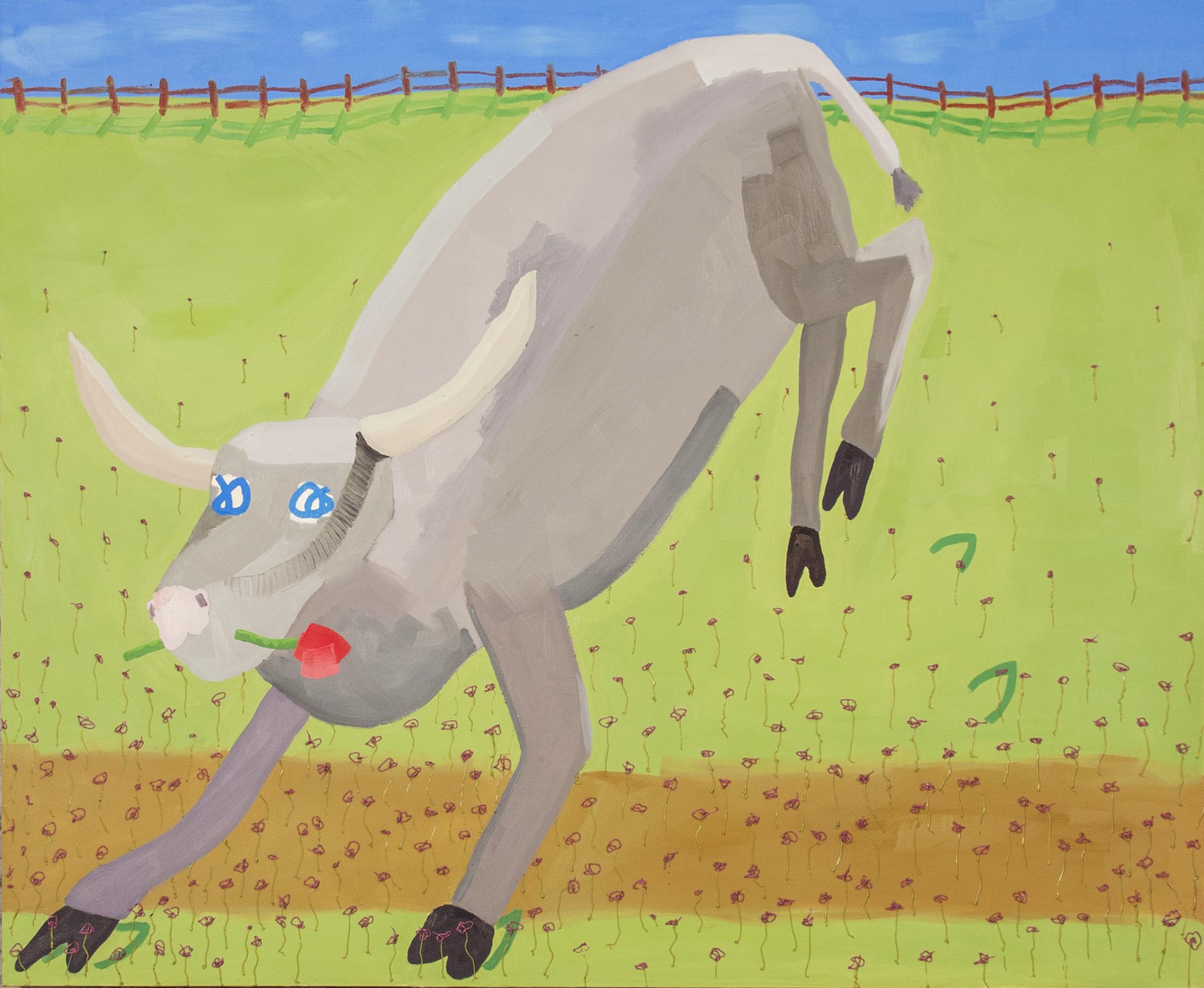 Bull oil on canvas 60x48 4500.jpg
