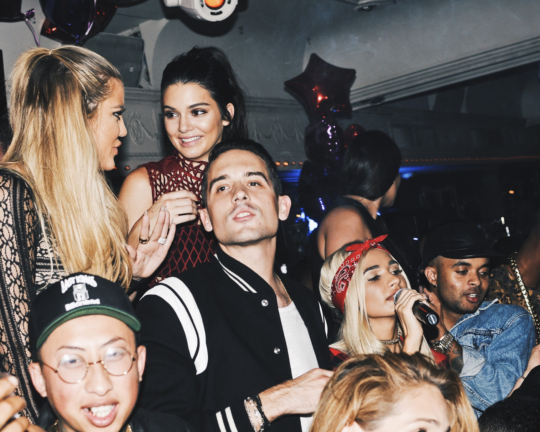 Khloe, Kendall and G-Eazy, 2015