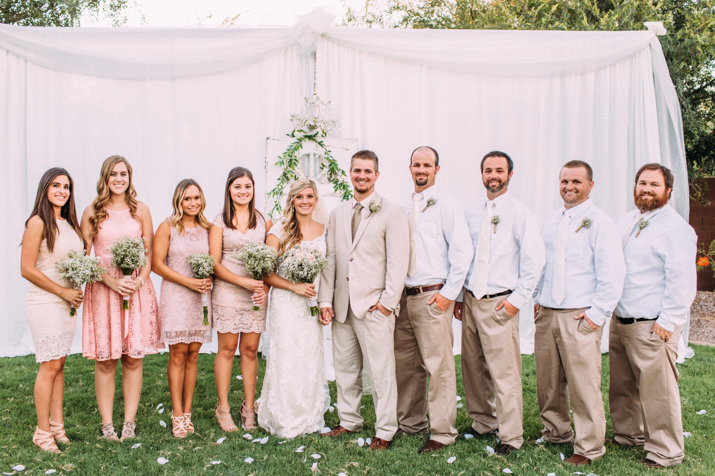 Backyard Wedding at Bride's Childhood Home in Gilbert, Arizona- Konsider It Done- AZ Arizona Wedding & Event Planner, Designer, Coordinator Planning in Scottsdale, Phoenix, Paradise Valley, Tempe, Gilbert, Mesa, Chandler, Tucson, Sedona