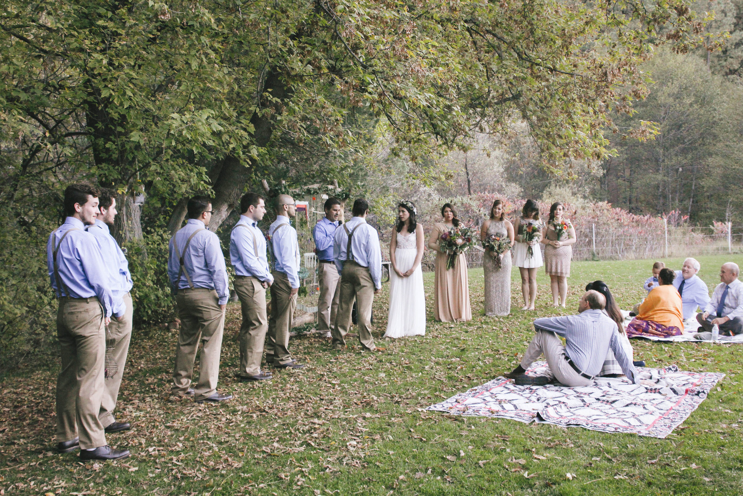 DIY Boho Wedding in the Mountains of Payson, Arizona- Konsider It Done- AZ Arizona Wedding & Event Planner, Designer, Coordinator Planning in Scottsdale, Phoenix, Paradise Valley, Tempe, Gilbert, Mesa, Chandler, Tucson, Sedona