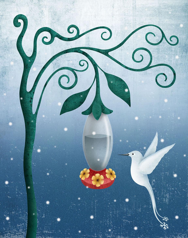 Snow Hummingbird