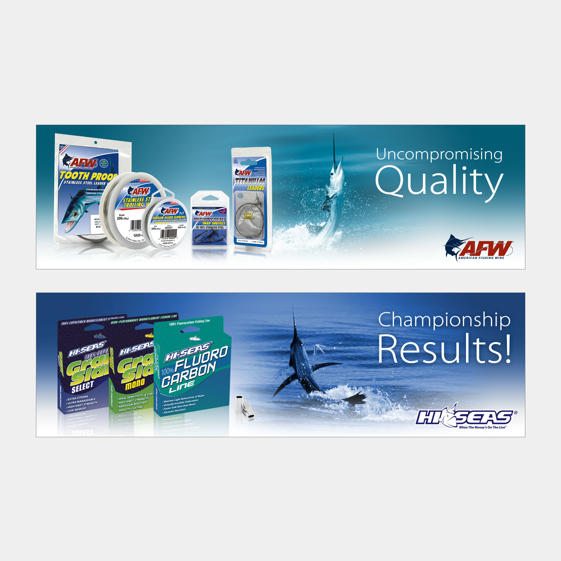 Website Product Banners