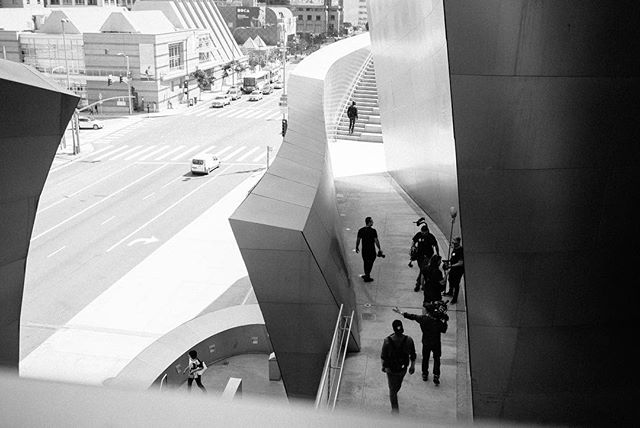 Walt Disney Concert Theater, Los Angeles - 2017 #losangeles #frankgehry #action