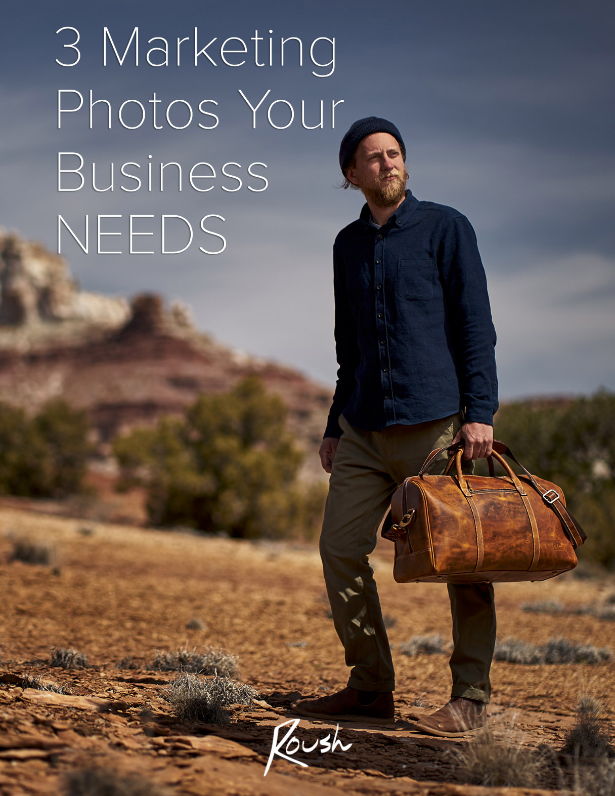 Find out the 3 photos you NEED to grow your brand image, stand out from the competition, and make a great first impression. Nick Roush Photography - small business commercial photographer.