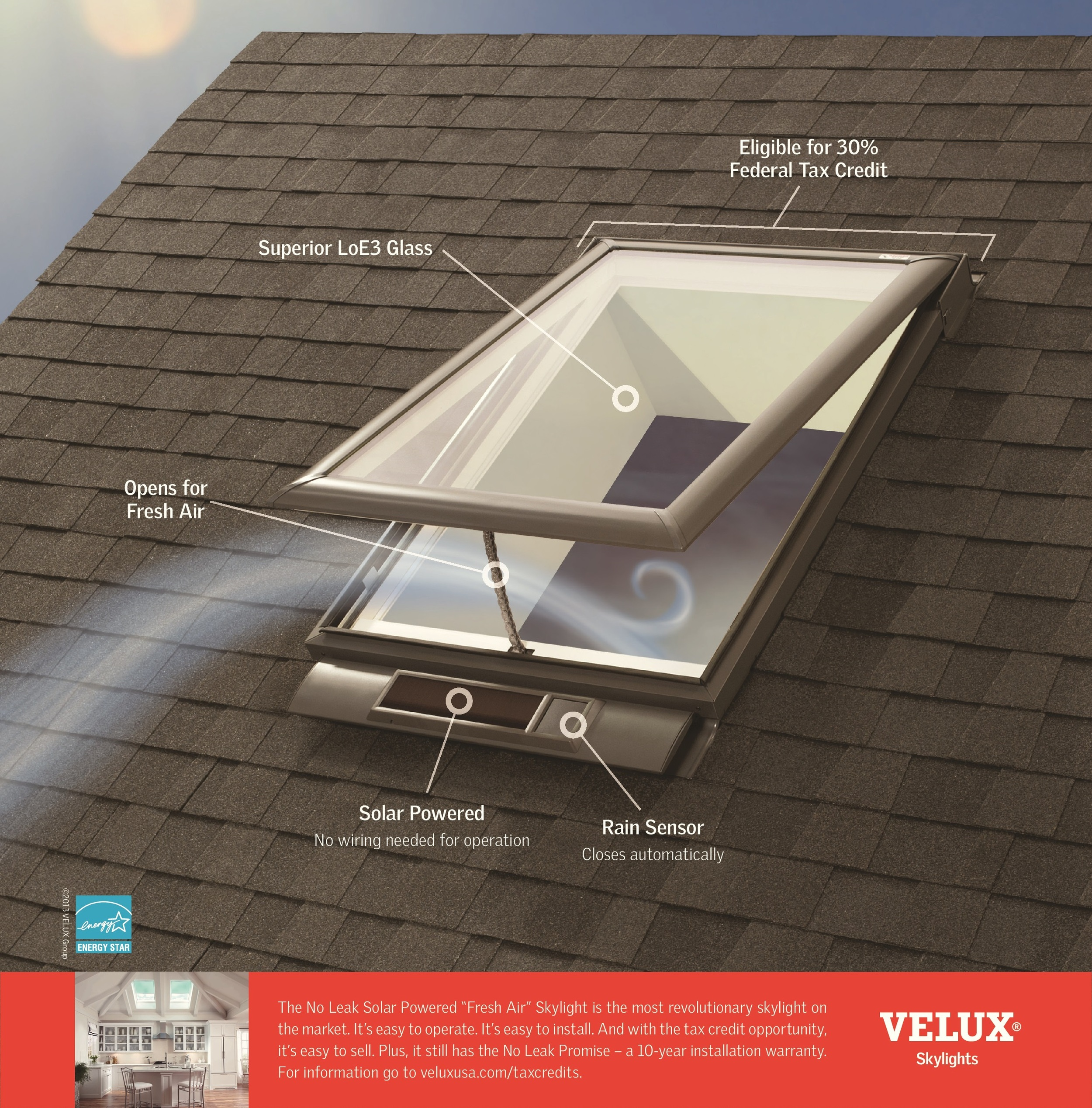 Skylights Roof Windows All Solar Idaho Boise