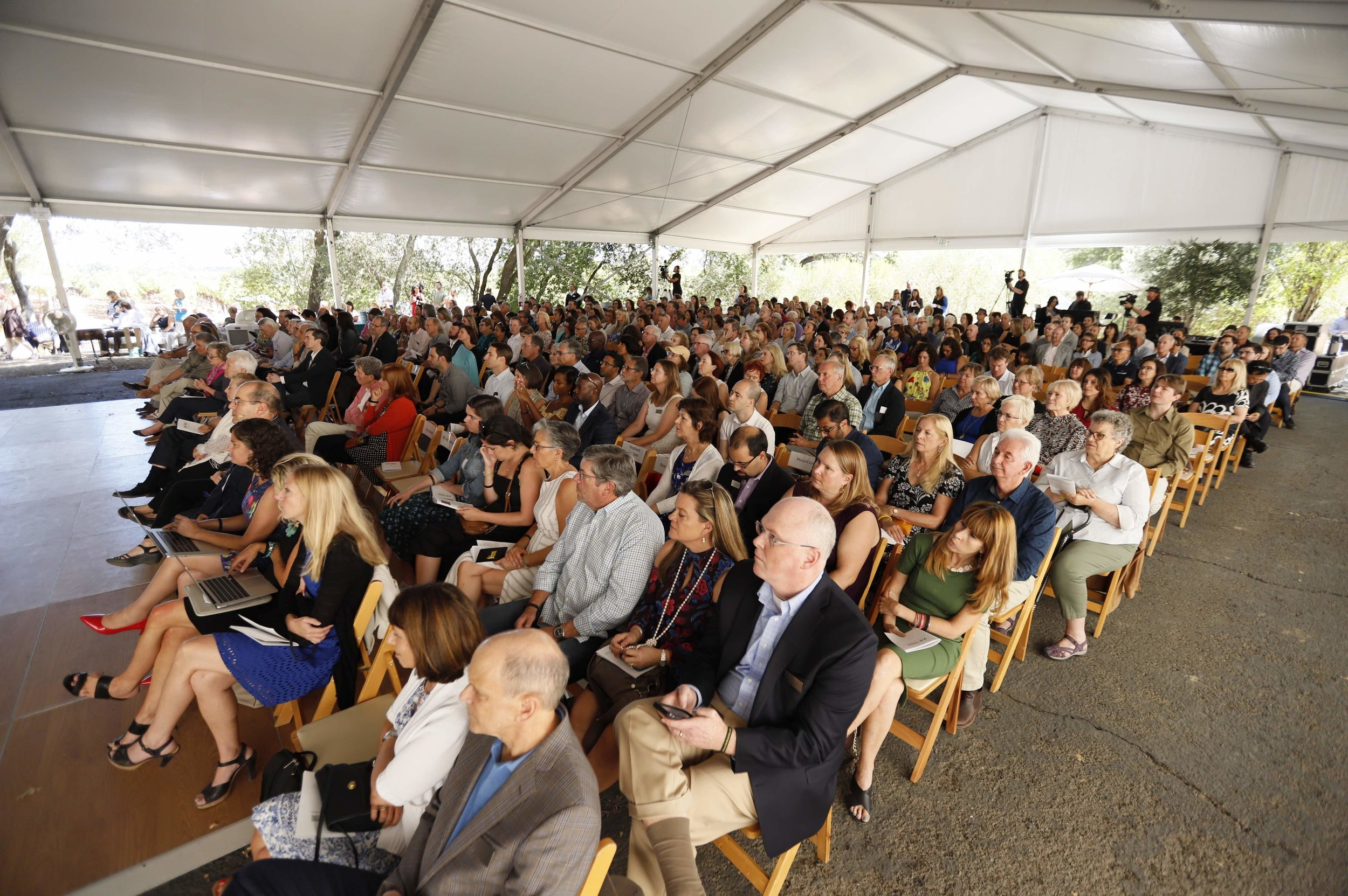 The attendees at the scientific symposium during One Mind's 24th Annual Music Festival.