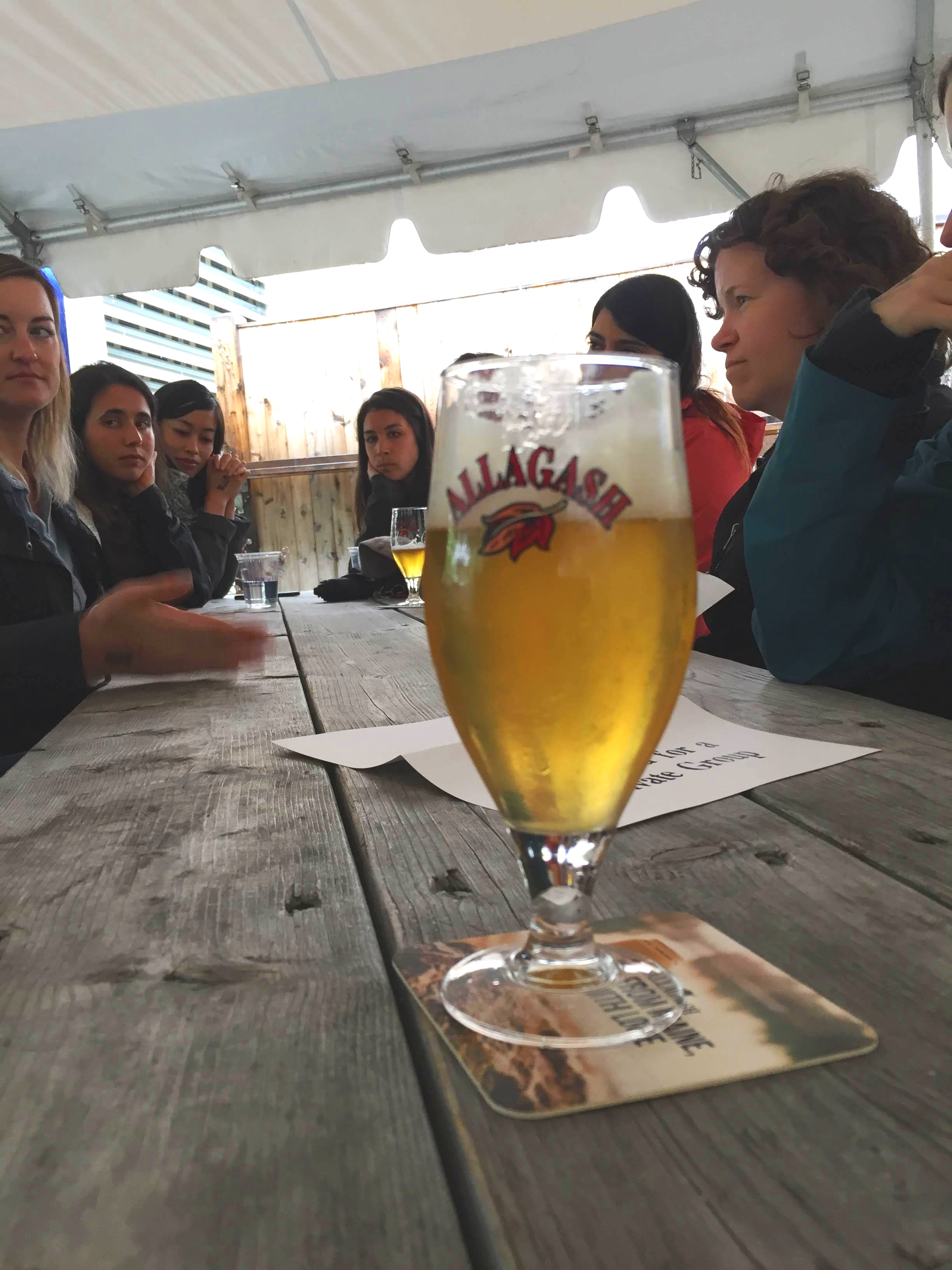 """I really loved the Allagash Brewery tour and how their culture related so well to our lab values – passion, persistence, innovation, collaboration, and maintaining high quality standards of what we put out to the world."" - - Yiwen"