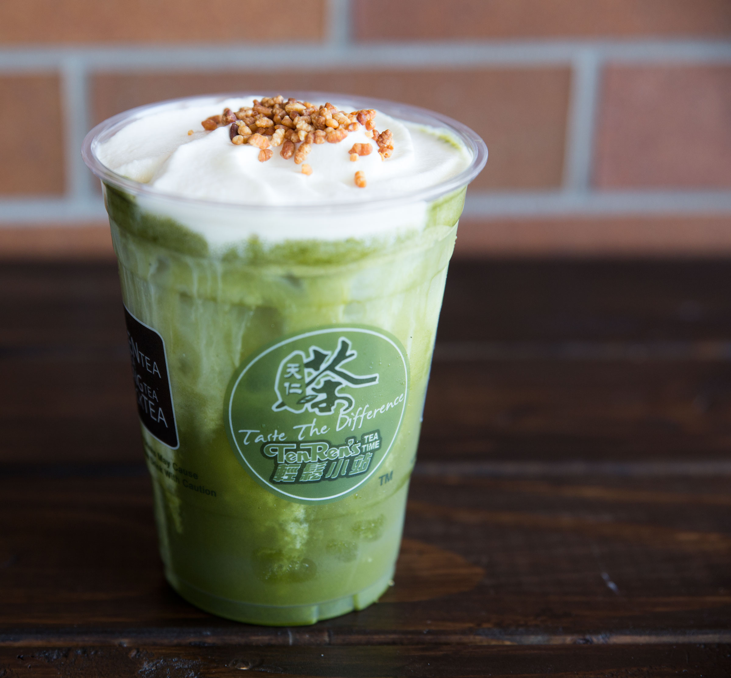 Green Matcha Frost Top