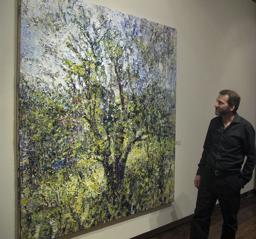 Jim Reid is represented in Toronto by  Lonsdale Gallery.    2010 solo exhibition  Forces of Nature  : Feral apple trees