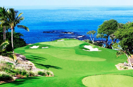 Mauna Kea Golf Course  is world-renowned and many the single finest golf course in Hawaii. The Hapuna Golf Course, offers fun and challenging play for all golfers on the Kohala Coast.