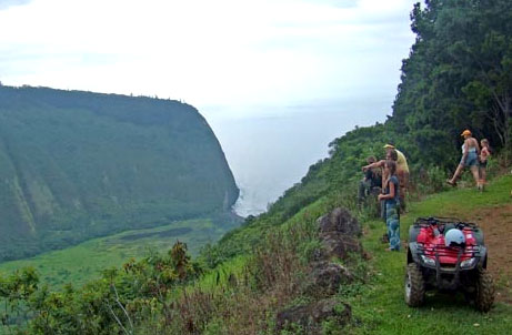 "Waipio Valley IS ""old Hawaii"" - a place that time forgot. It is serene, awe inspiring and majestic - the very essence of why visitors flock to the islands. For more info check out the  website"