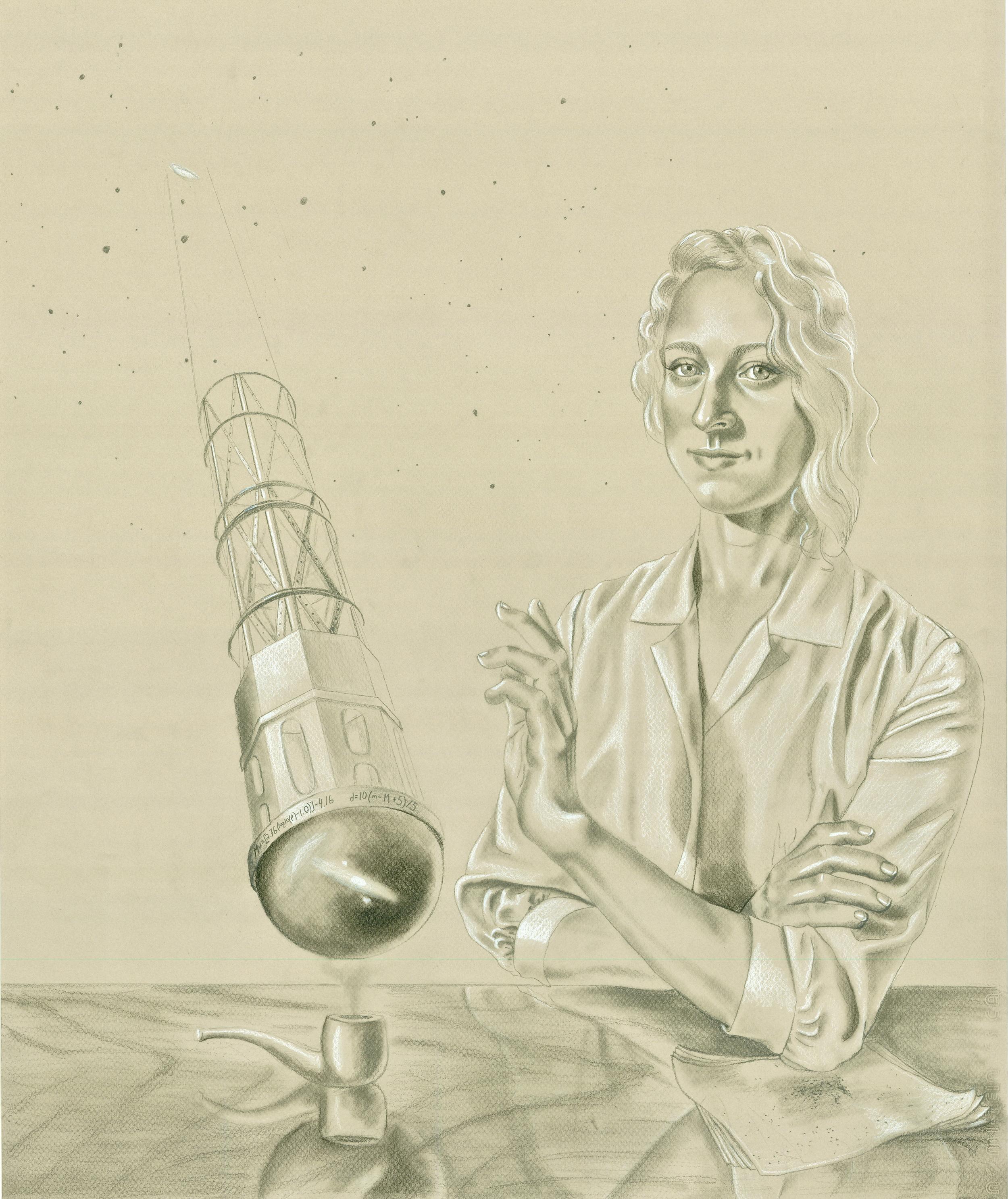 Preliminary Drawing for Henrietta Swan Leavitt