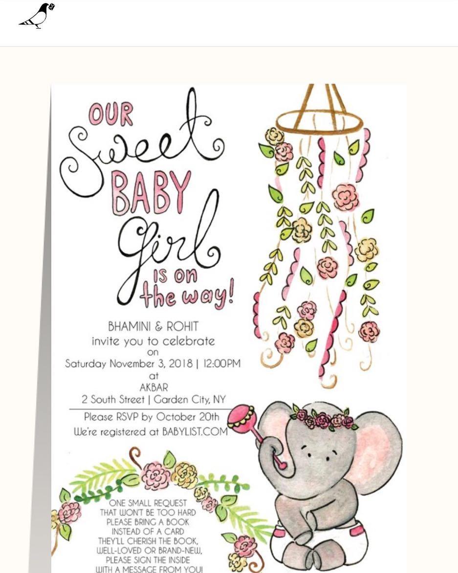 Sweet Elephant Floral Baby Shower Invite.jpg