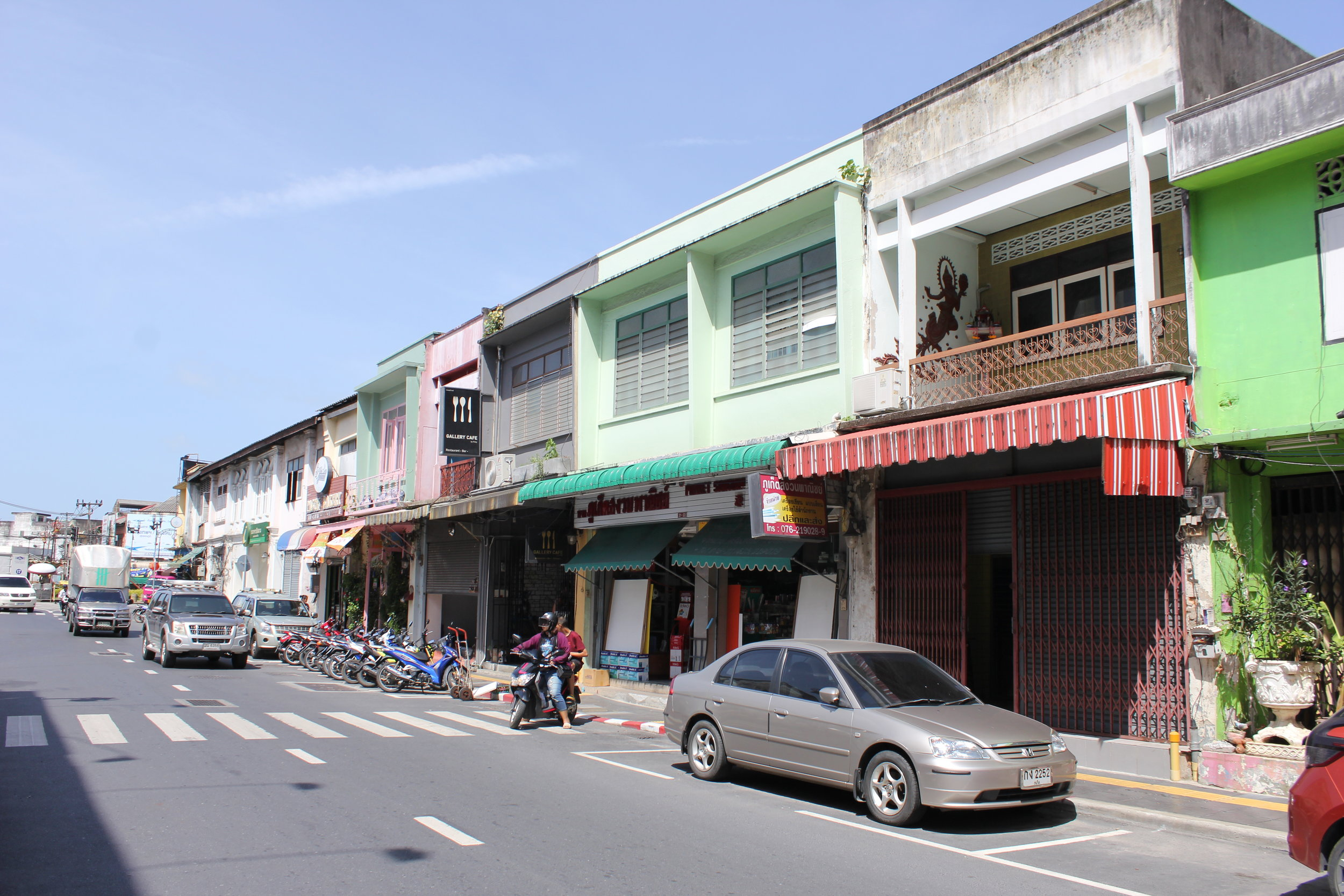 Phuket's funky Old Town with its patinas of colonial history