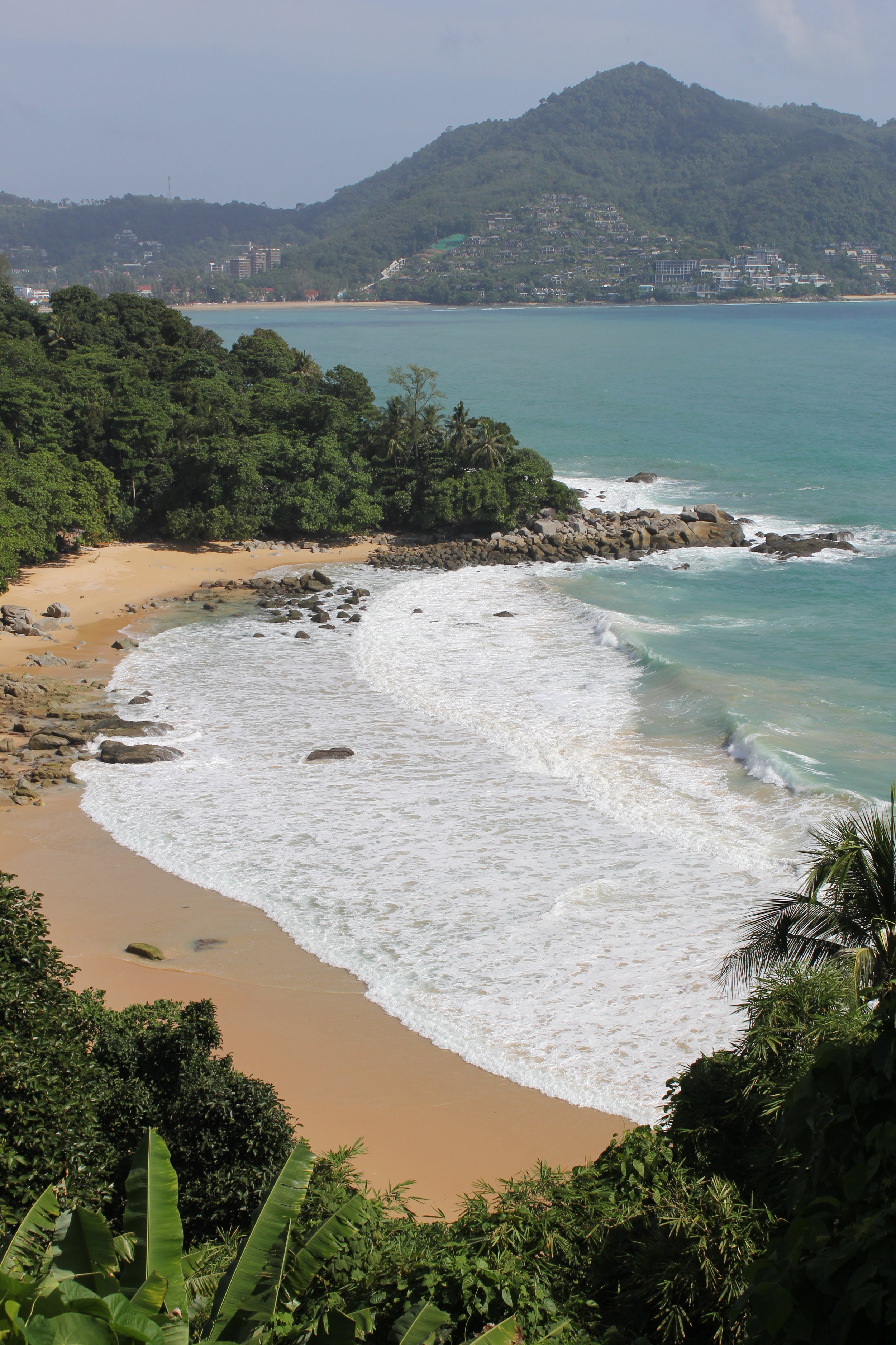 One of the many stunning beaches on Phuket's western side