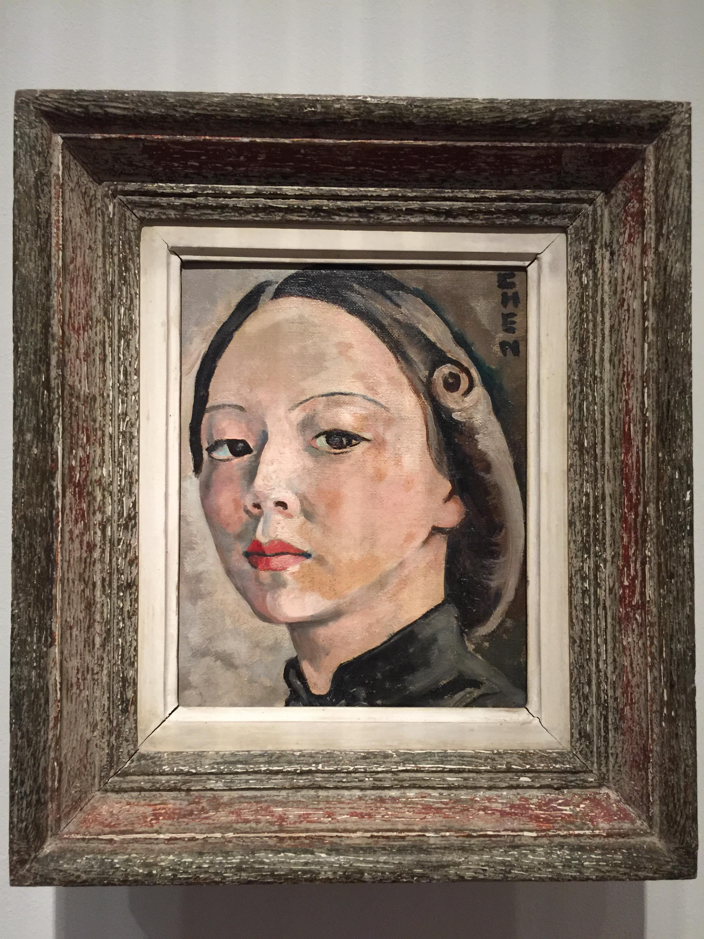 Georgette Chen, self portrait, National Gallery Singapore