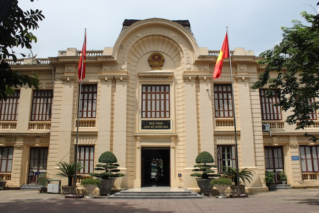 The National Museum of History, modern section, which used to be a French municipal building during the colonial era