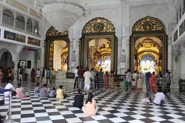 ISKCON temple in Bombay