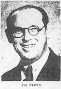Joe Farren, ballroom dance instructor and manager