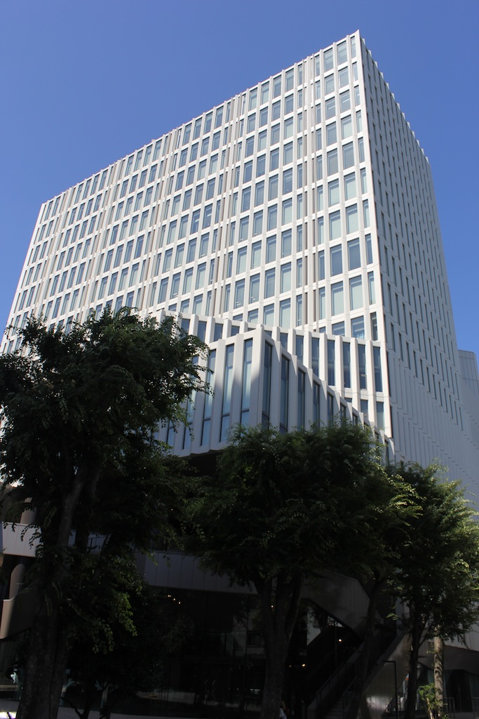 The newest building on the modern campus of Sophia University in Yotsuya