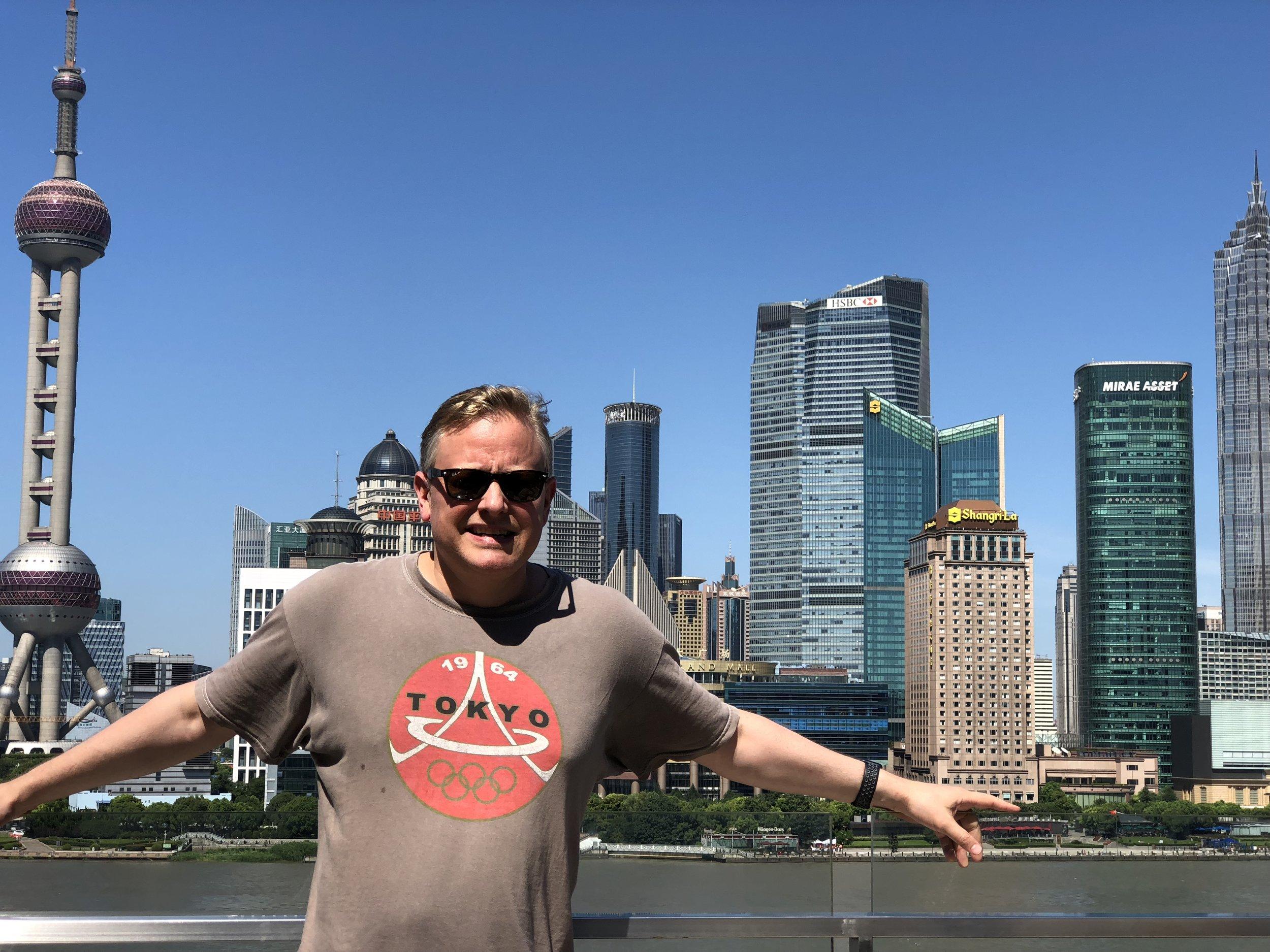 Dr. Field in Shanghai, taken in 2017