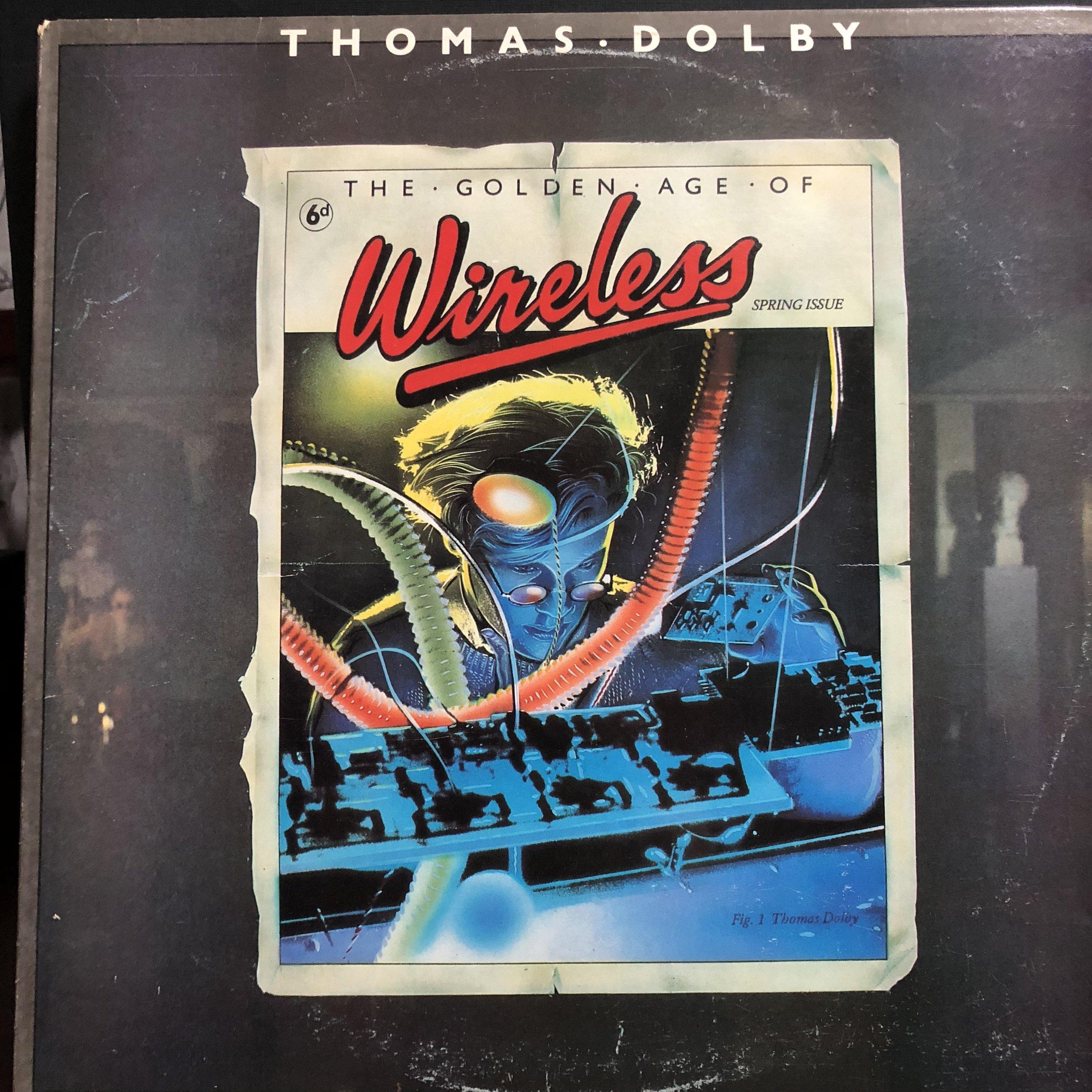 My priceless copy of the album Wireless
