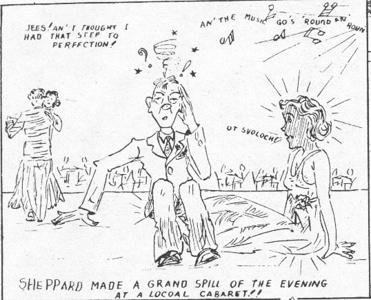 A cartoon in Walla Walla Magazine, the magazine of the US 4th Marines