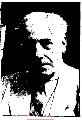 The last image of Kaufmann to appear in the press at the time of his death