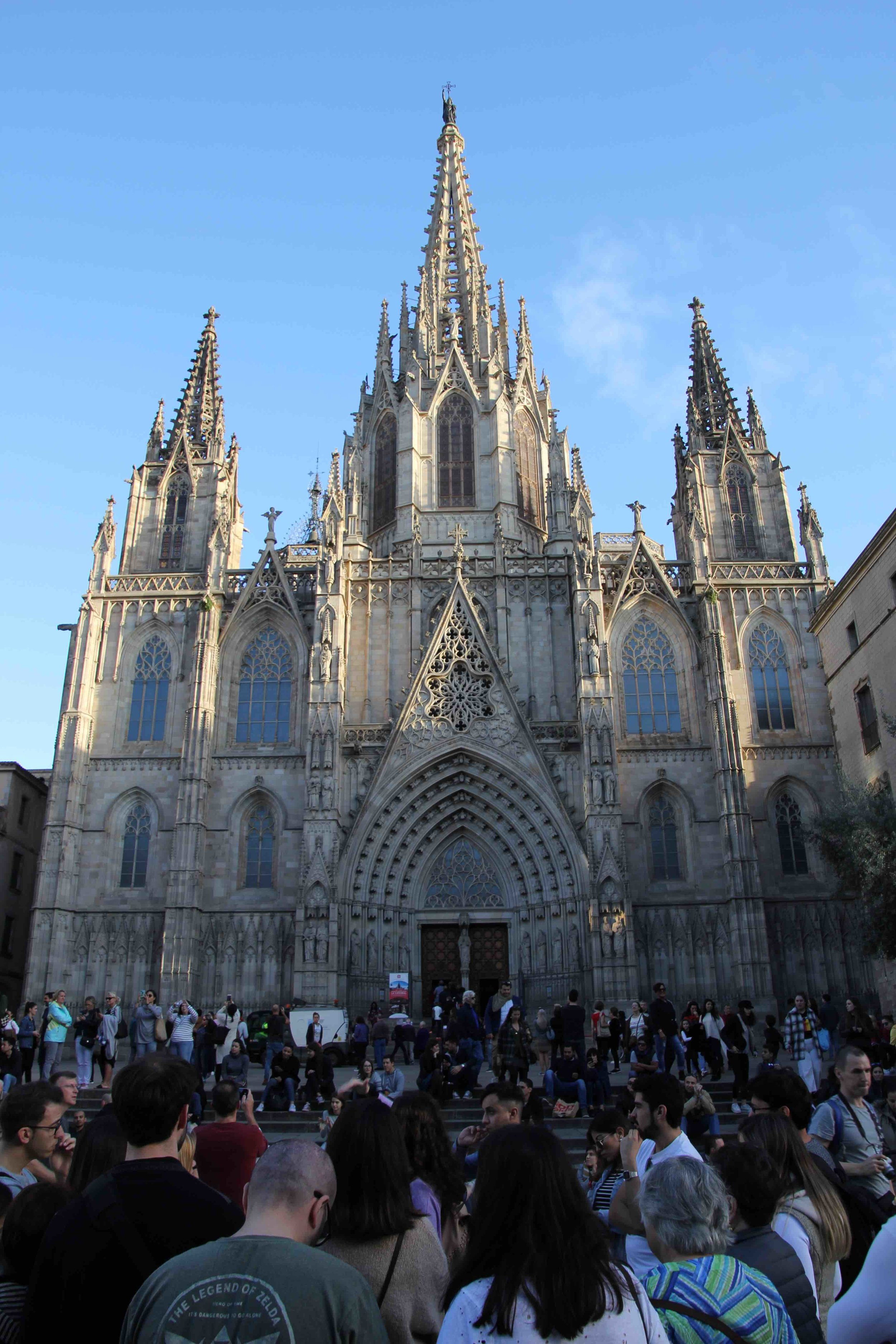 La Catedral in late afternoon