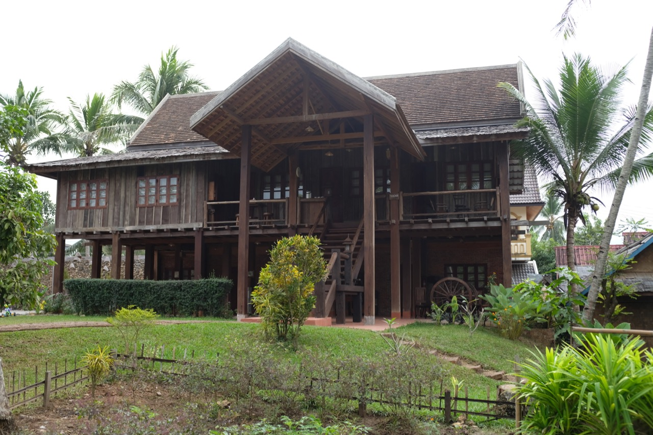 Lao House on Rustic Pathways Base Camp, where I and a few other teachers stayed.