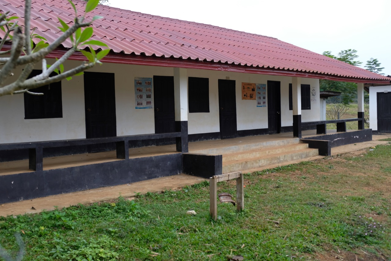 This is the school that Rustic Pathways helped the village to build through their service learning project