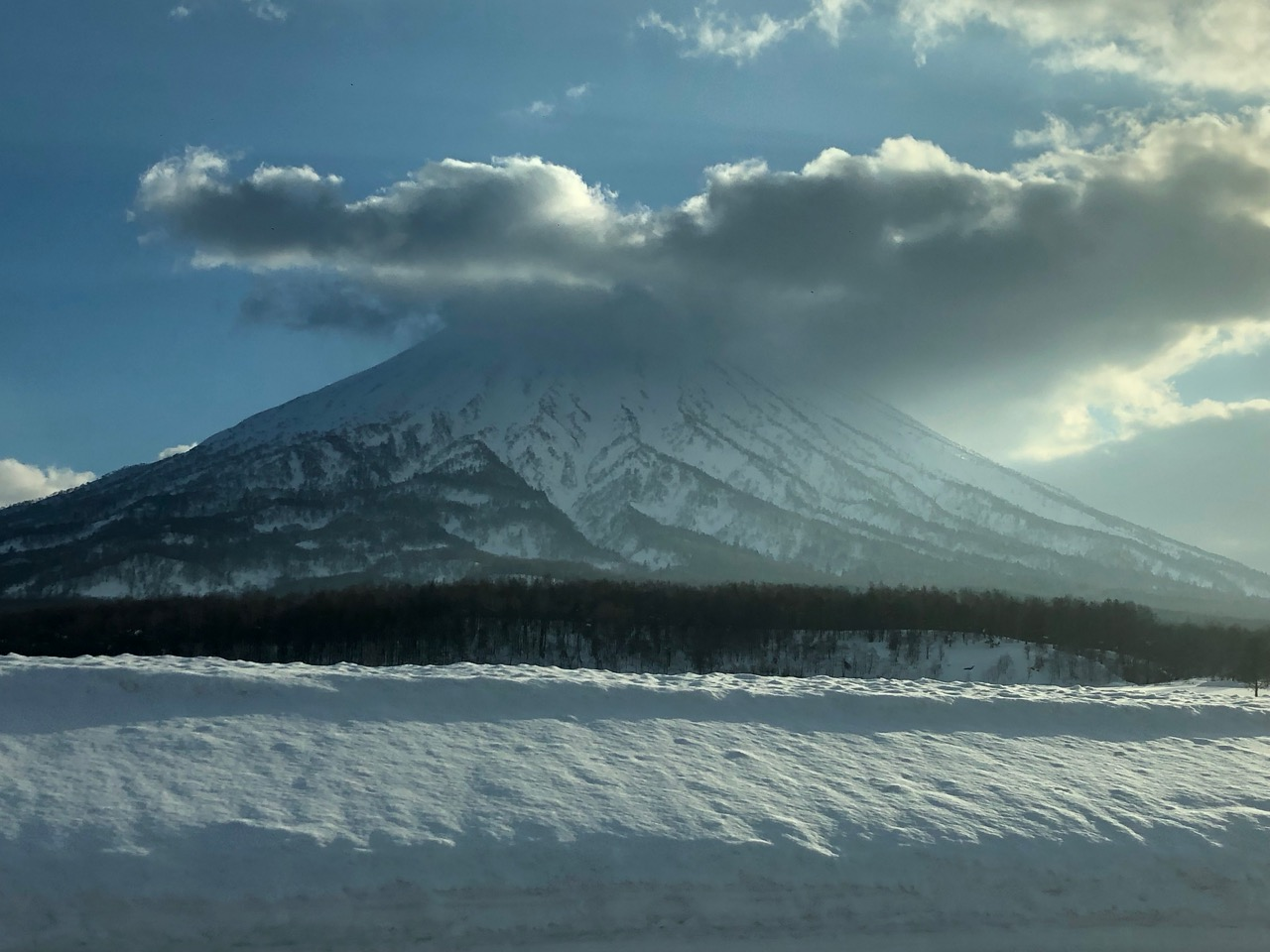 Mount Yotei in Niseko