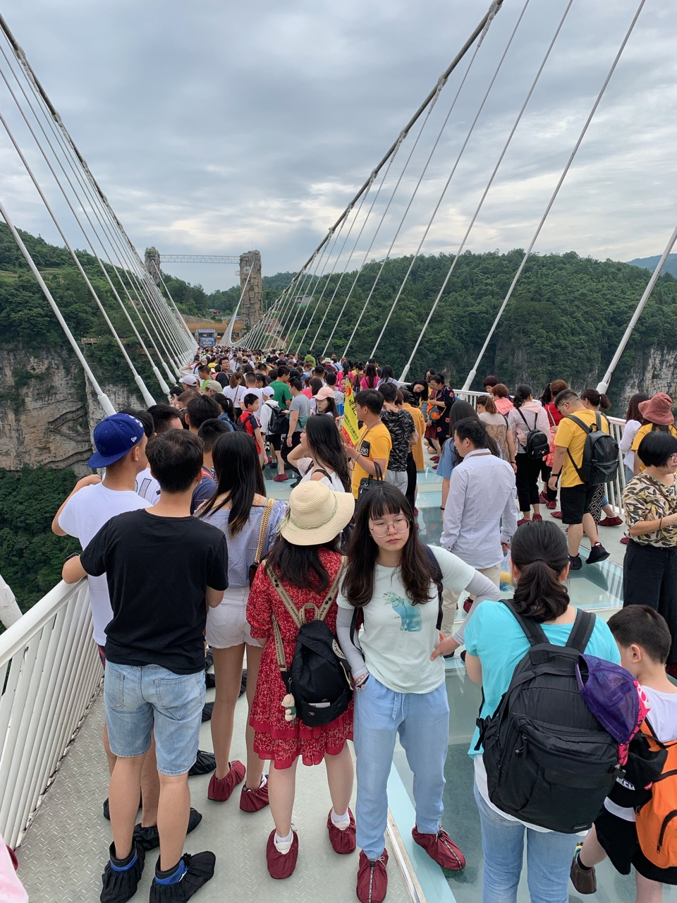 The glass bridge is a fun walk if you don't mind crowds!