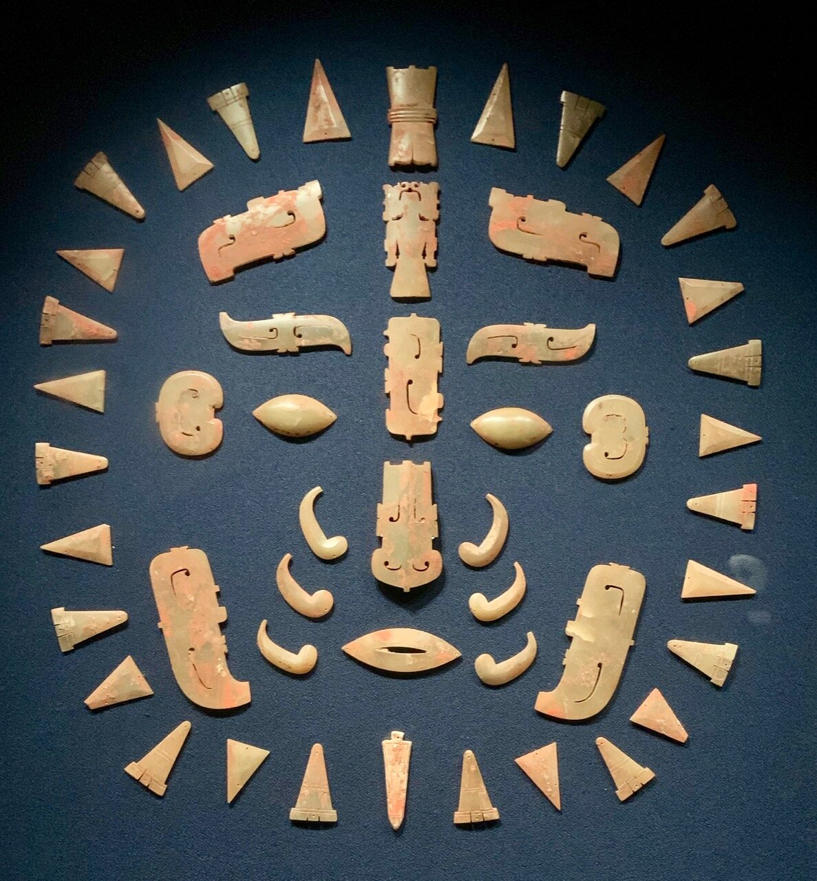 Ornaments on Funerary Face Covering, Late Western Zhou (9th c-771 BC)