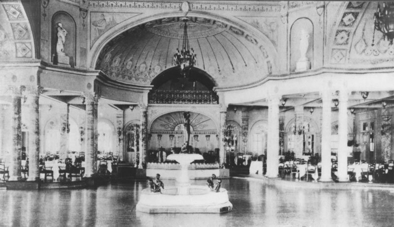 The Majestic Hotel Ballroom, one of the great ballrooms of the 1920s, which unfortunately was destroyed along with the hotel in the 1930s