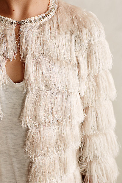 Fringefare Topper by  Anthropologie