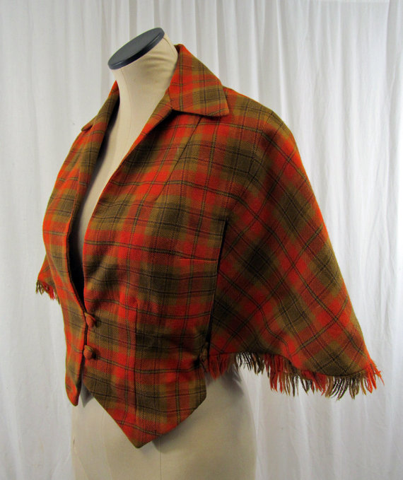 Autumn Vest Cape by  VintagePippi