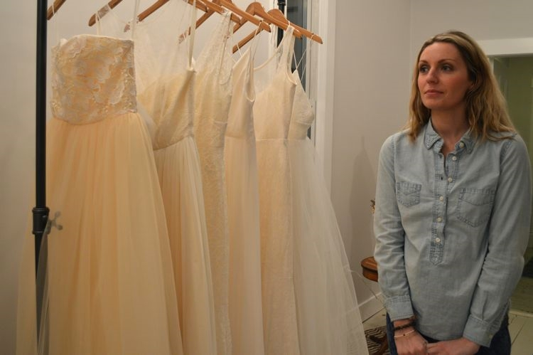 Katee, owner of True North Bridal Studio