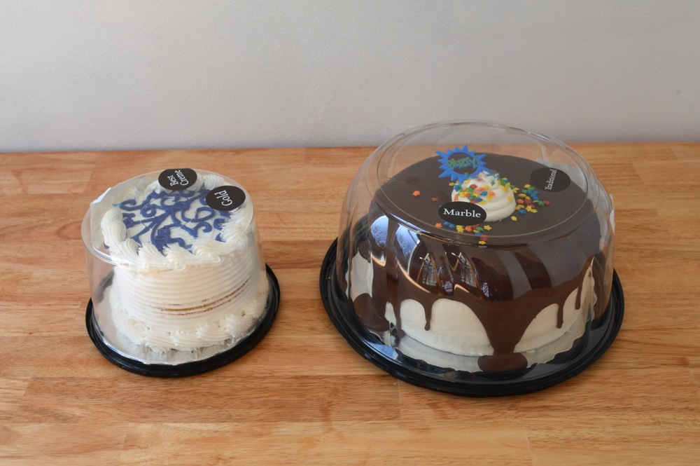 Two store bought cakes get a makeover.