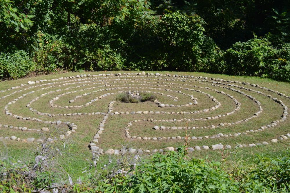 Labyrinth, a nice location for an intimate ceremony or photos