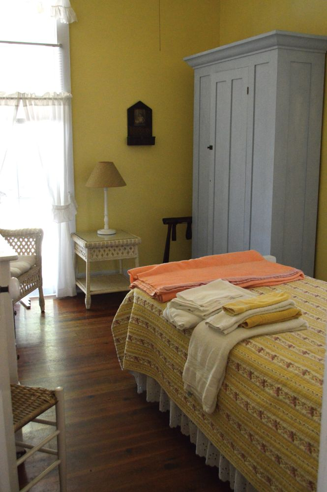 A room inside Mayflower Cottage (rooms come with linens!)