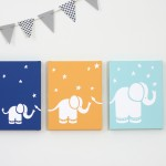 Elephants Canvas