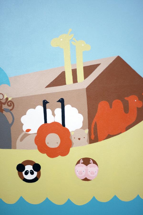 Senn & Sons // Nursery Art // Noah's Ark