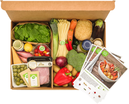 Hello Fresh Meal Delivery Service.