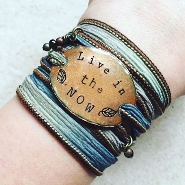 Right now is all we got. ✌️ Come see us at the @alpharettaartsstreetfest today 10-5! Slinging jewels all day in Booth 14 🙌 #alpharettastreetfest #sailorstudio #shoplocal #craftshow #bohowrapbracelet