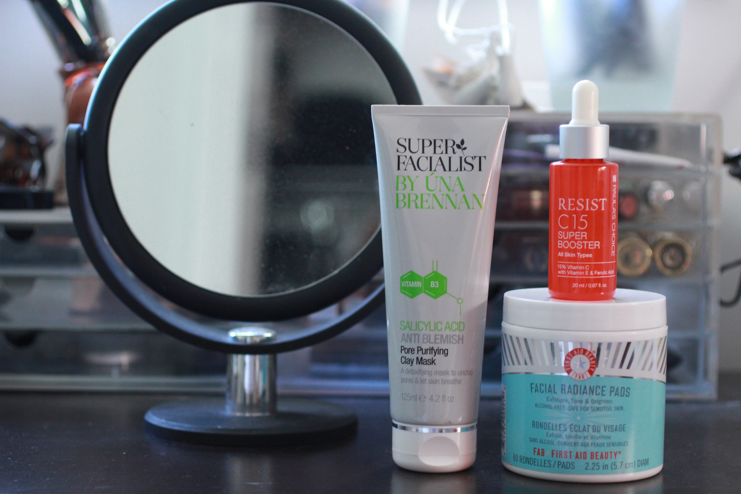 Pore Purifying Clay Mask, C15 Super Booster, Facial Radiance Pads