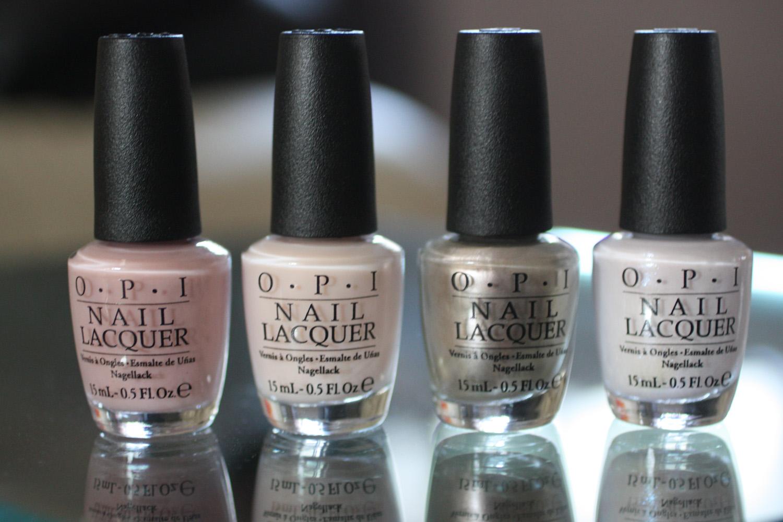 OPI Soft Shades Neutrals