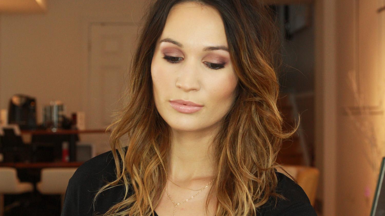 Evening makeup with the Laura Mercier Eye Art Artist's Palette