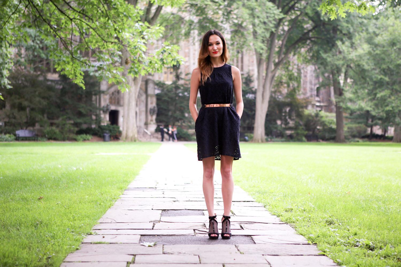Ella Moss Dress // Nicholas belt // Jimmy Choo sandals
