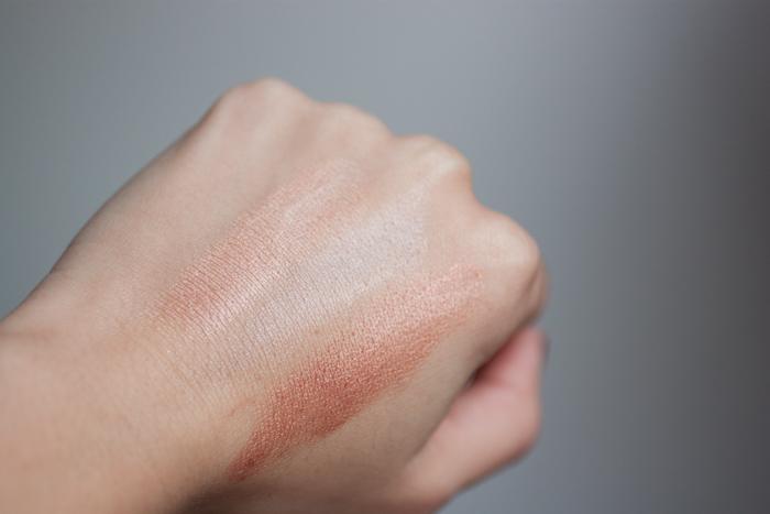 TOP TO BOTTOM: Maybelline Nude Glow, Kjaer Weis Radiance, Estee Edit Day Light